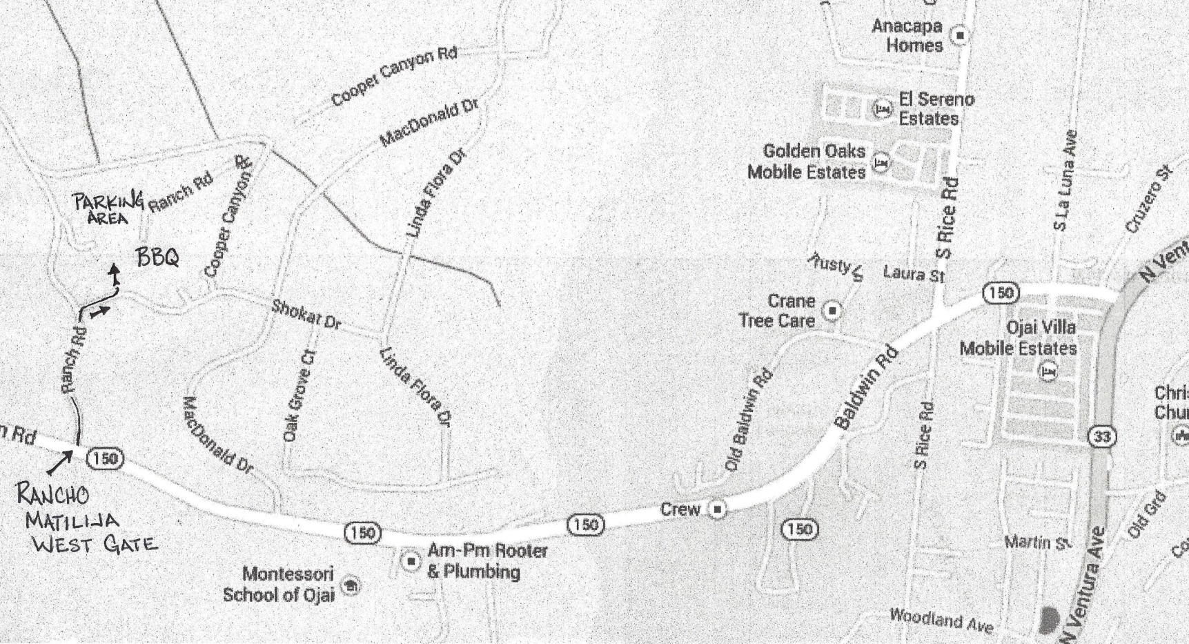 BBQ Map