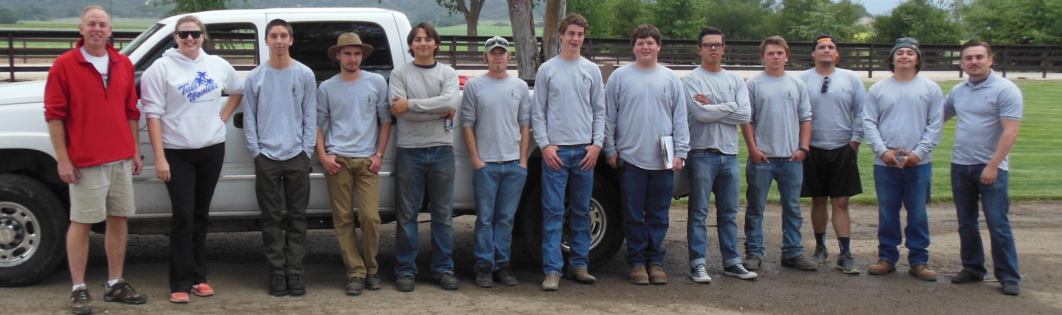 The CREW Staff BBQ 2014